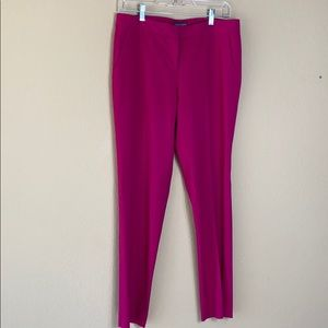 Vince Camuto women's magenta ankle pants